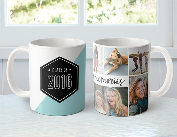Graduation Photo Gifts - Personalised Photo Coffee Mug